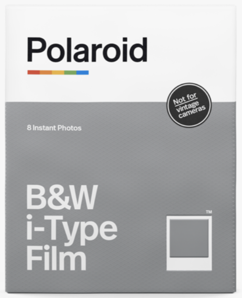 Polaroid i-type b/w film